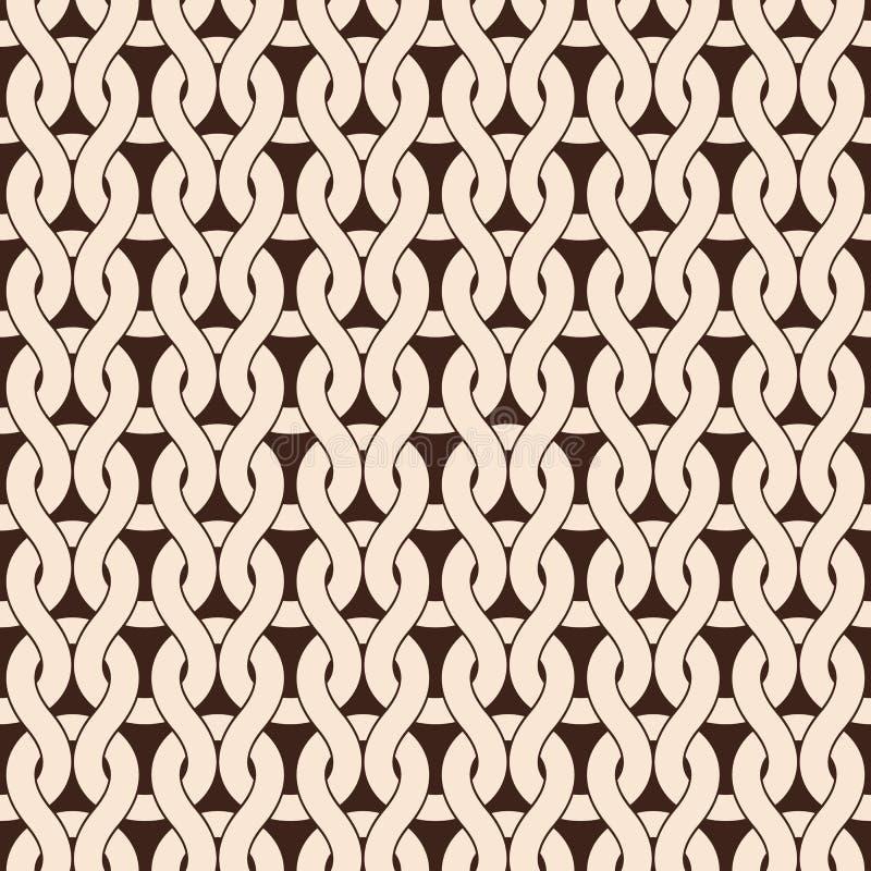 Configuration tricotée illustration de vecteur