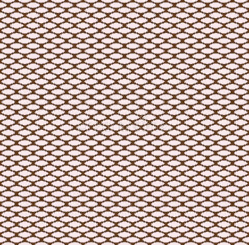 Configuration tricotée sans joint illustration libre de droits