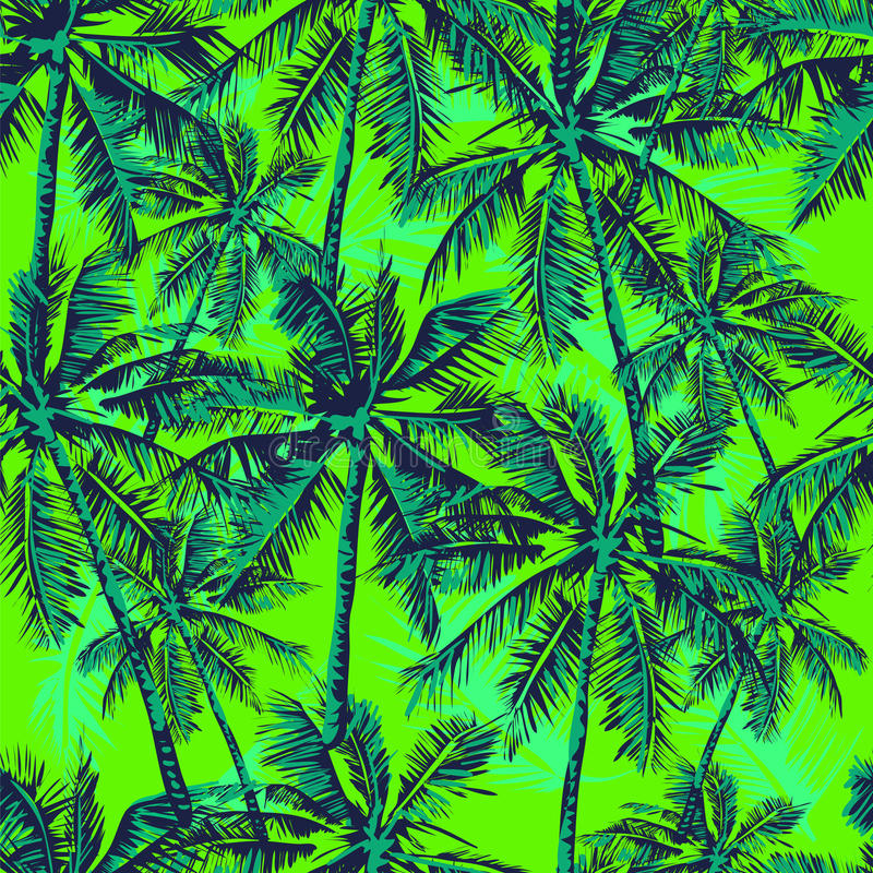 Configuration tropicale illustration de vecteur
