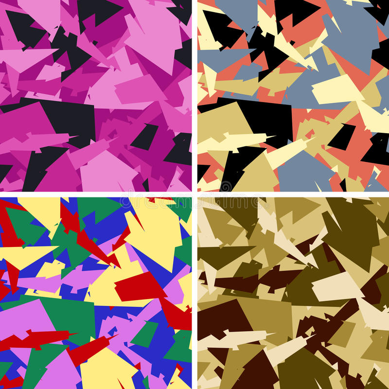 Configuration urbaine de camouflage illustration stock