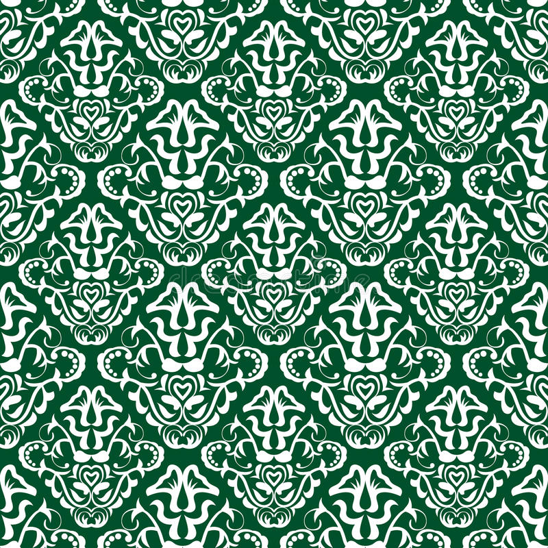 Configuration verte de papier peint illustration stock