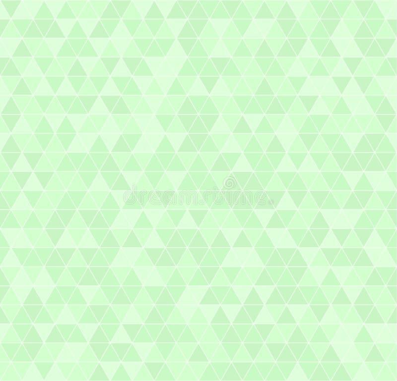 Download Configuration Verte De Triangle Vecteur Sans Joint Illustration de Vecteur - Illustration du emballage, texture: 87700707
