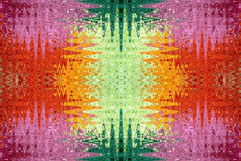 Configurations abstraites colorées illustration libre de droits