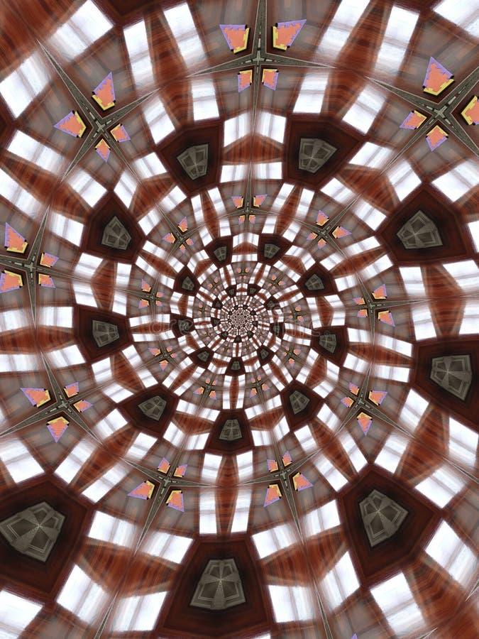 Configurations circulaires abstraites images libres de droits