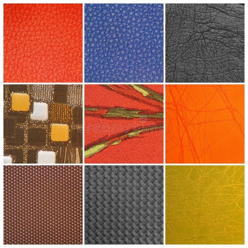 Configurations colorées images stock