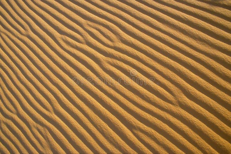 Configurations d'ondulation de sable image libre de droits