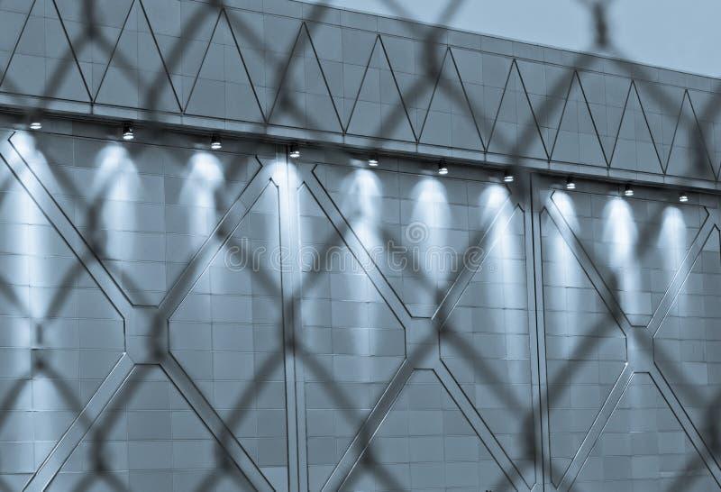 Configurations de frontière de sécurité image stock
