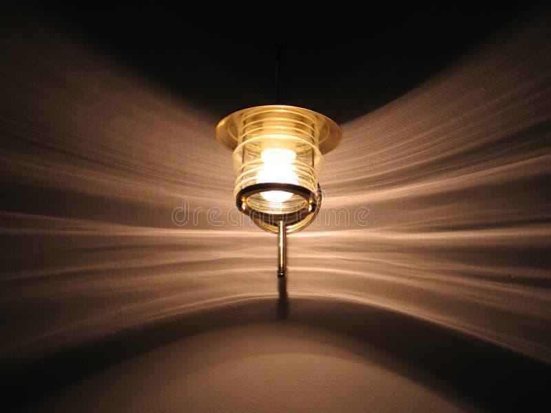Configurations de lampe et de lumière photos stock