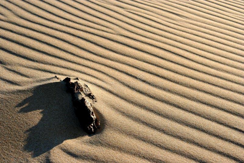 Configurations de sable photo stock