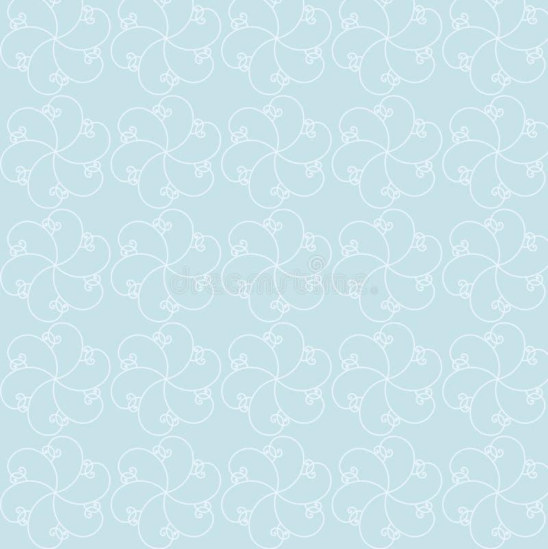Configurations florales illustration libre de droits