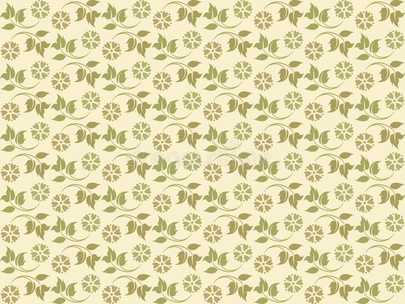 Configurations florales fraîches illustration libre de droits