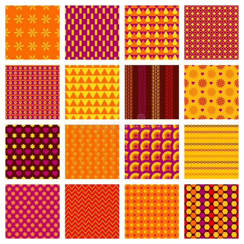 Configurations géométriques sans joint illustration libre de droits