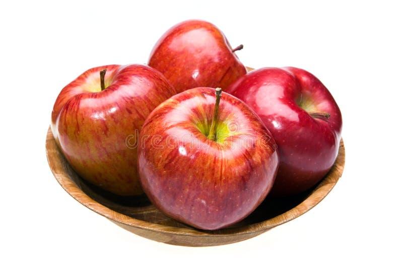 Configurations juteuses de pommes images stock
