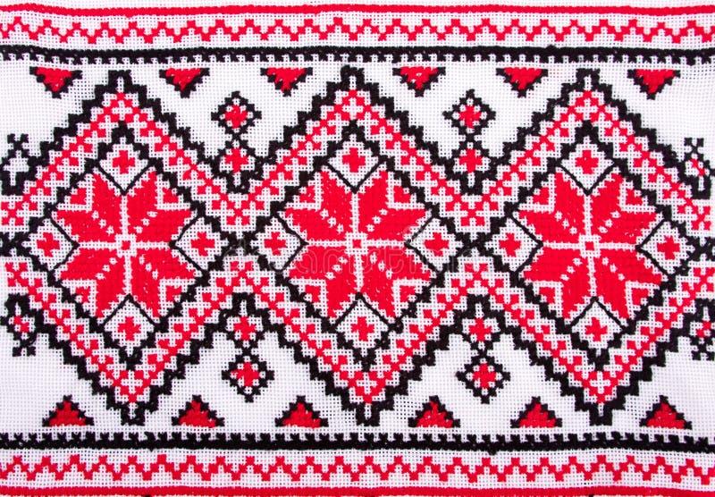Configurations traditionnelles ukrainiennes de broderie image stock