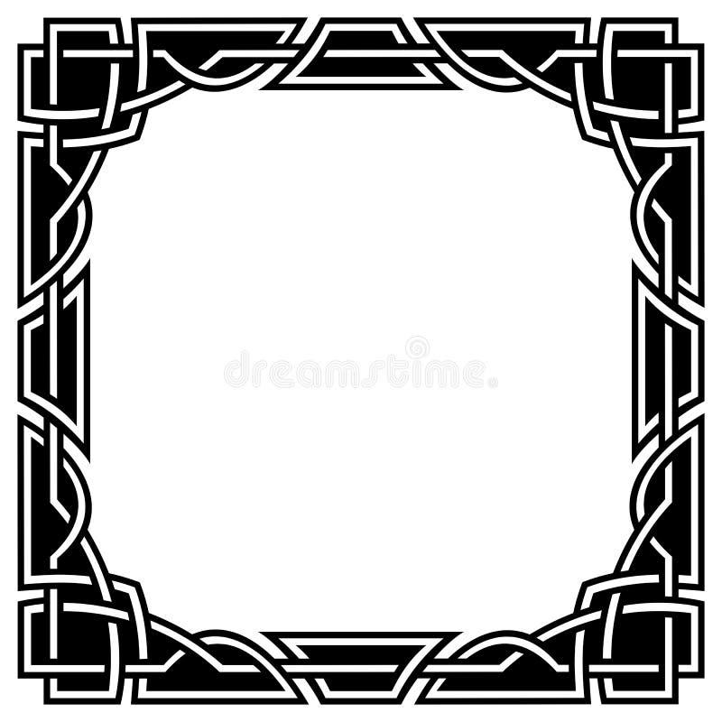 Confine celtico royalty illustrazione gratis