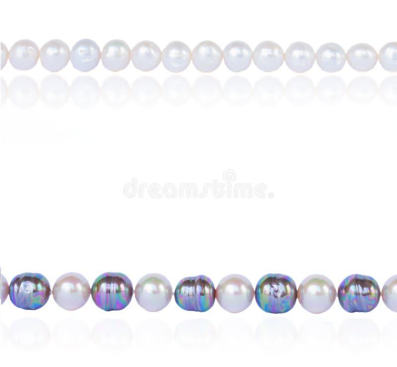Confine della perla immagini stock libere da diritti