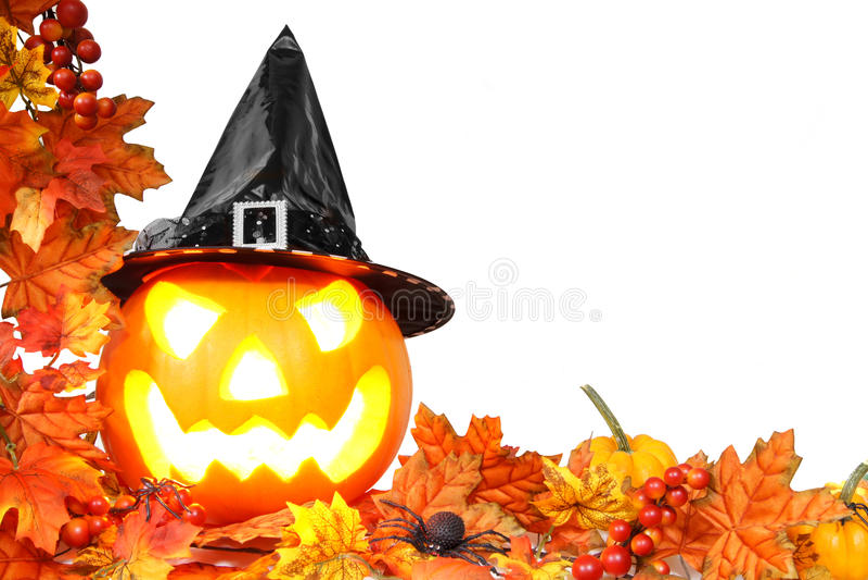 Confine di Halloween fotografie stock
