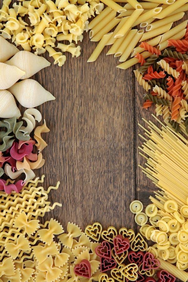 Confine Italiano Della Pasta Fotografia Stock