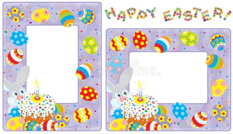 Confini di Pasqua royalty illustrazione gratis