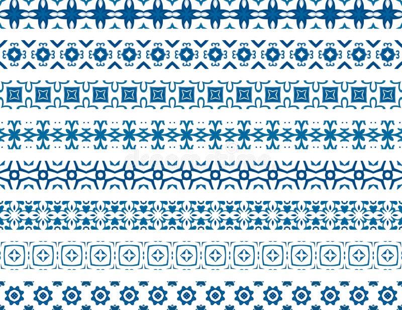 Confini portoghesi illustrazione di stock