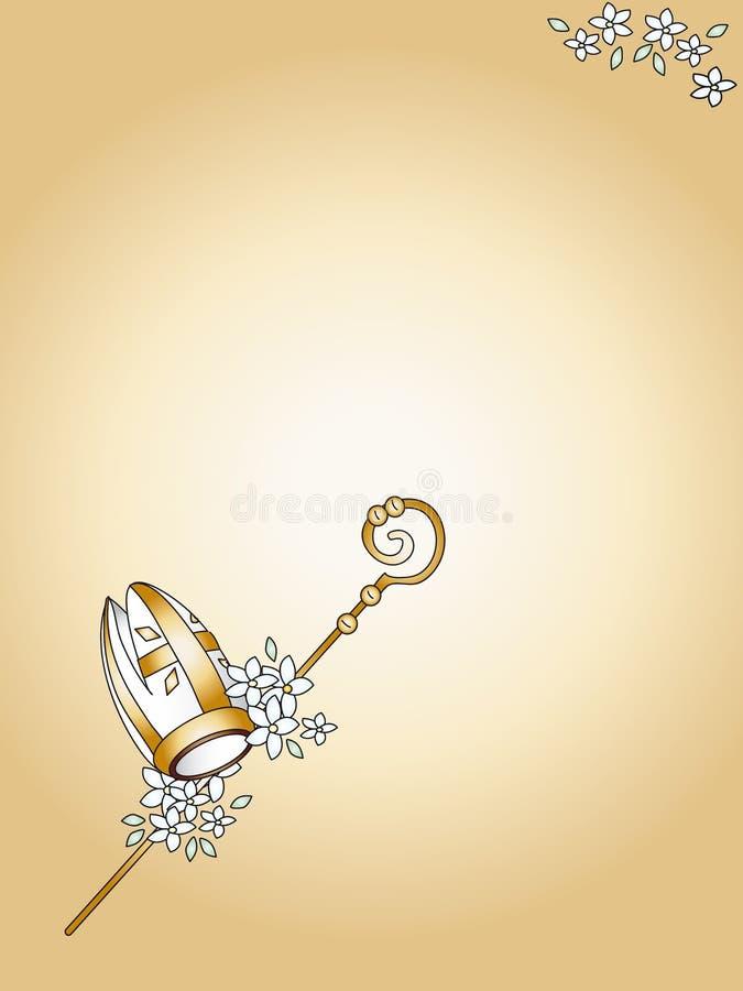 Confirmação santamente ilustração royalty free