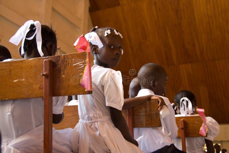 Confirmation en le Haïti images libres de droits