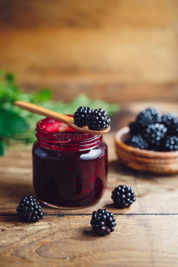 Confiture de Blackberry photos libres de droits