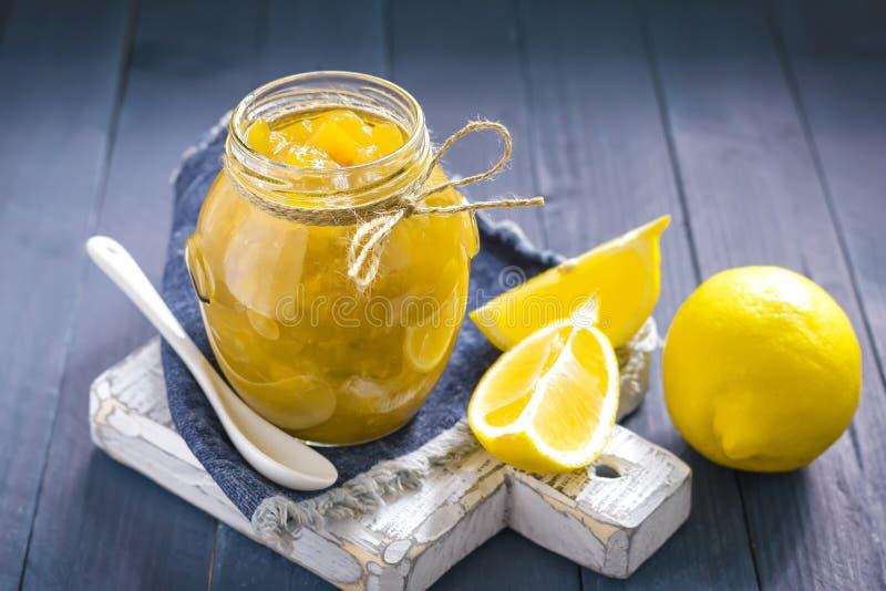 Confiture de citron photographie stock libre de droits