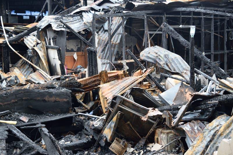 conflagration foto de stock