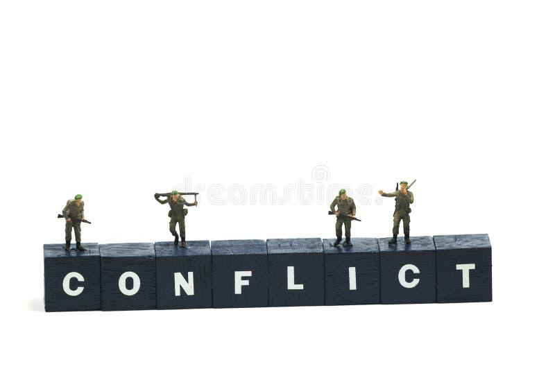 conflict fotografering för bildbyråer