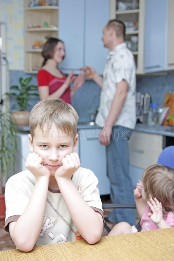 Download Conflict in family stock image. Image of woman, parents - 8053601