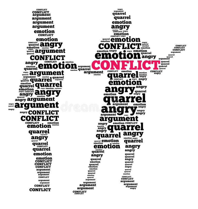 Free Conflict In Word Cloud Stock Photos - 29662143