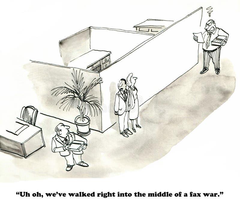 Conflictbeheer royalty-vrije illustratie