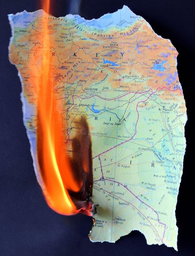 Conflictos de Oriente Medio fotografía de archivo