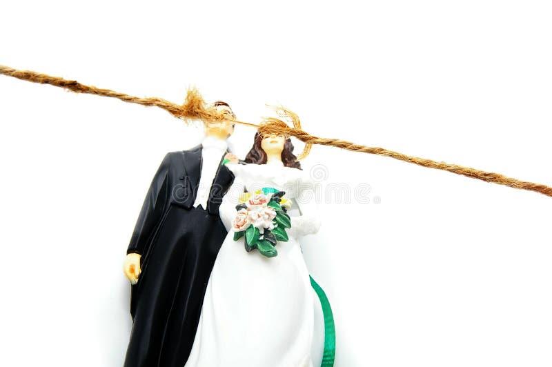 Conflit matrimonial photo stock
