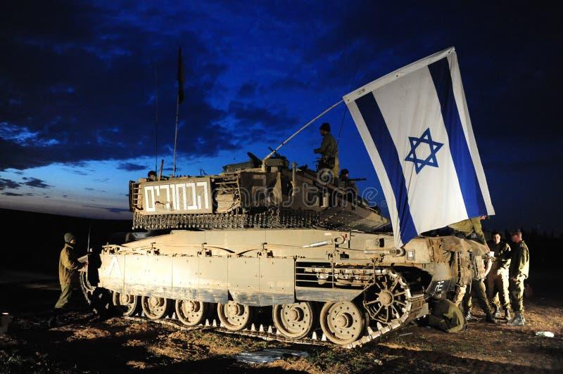Conflitto Armato Israeliano Fotografia Editoriale