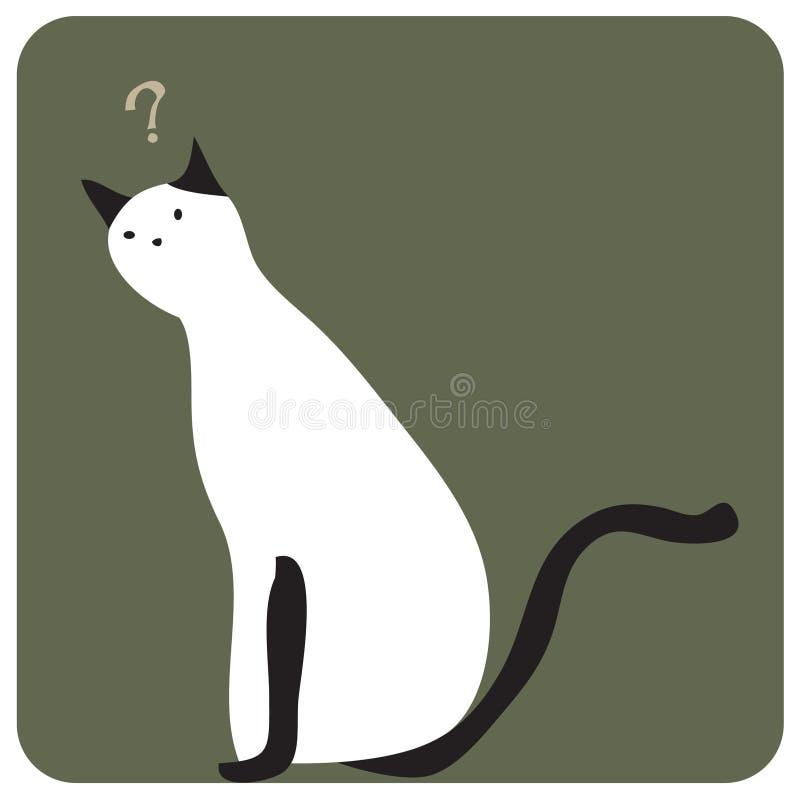 Confonda il gatto fotografie stock libere da diritti