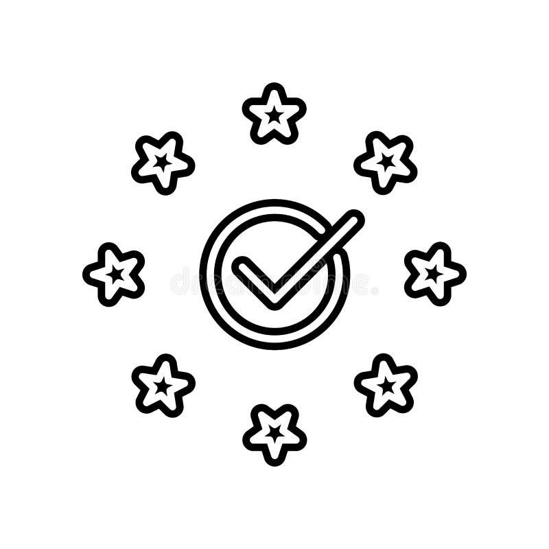 Conformidade, ícone do eu Elemento do projeto dos dados gerais para o conceito e o ícone móveis dos apps da Web Glyph, ícone liso ilustração stock