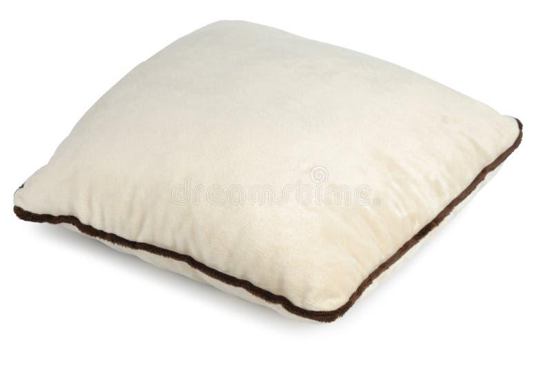 Confortable décorez l'oreiller photographie stock libre de droits