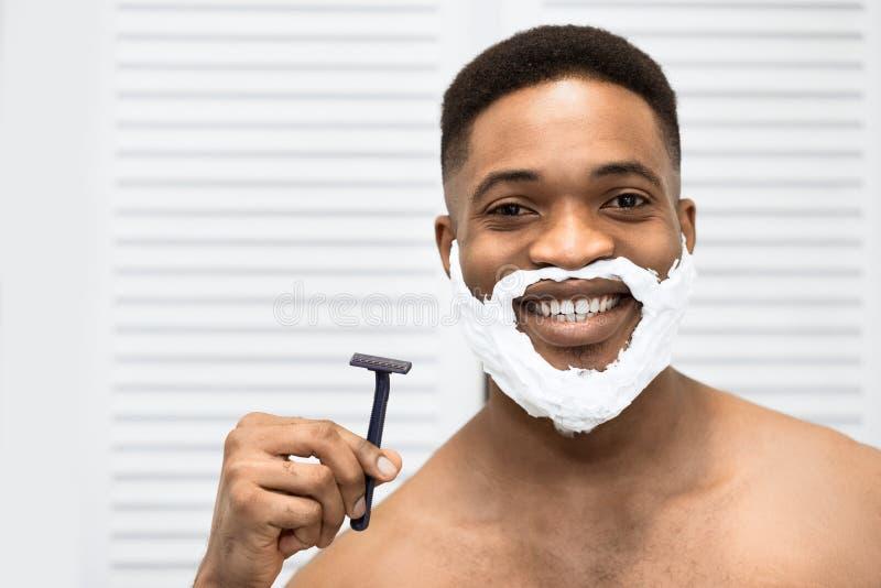 Conforto que barbeia o conceito imagem de stock royalty free
