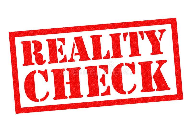 Confrontação com a realidade ilustração royalty free