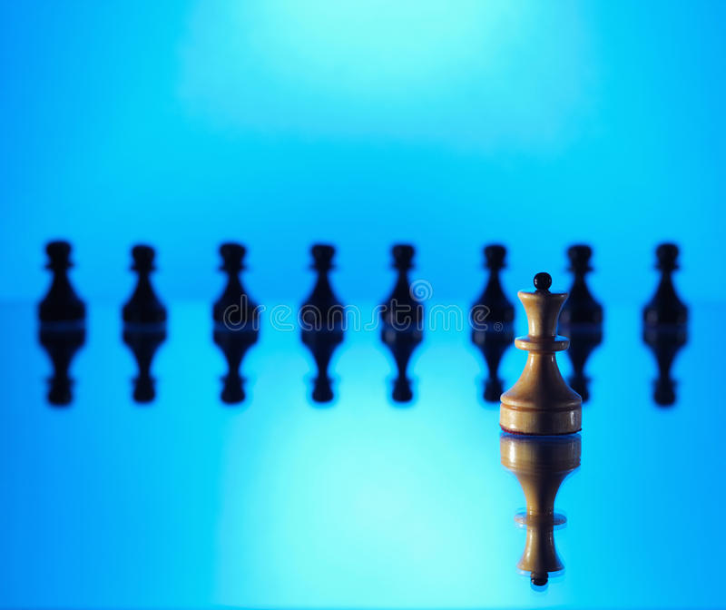 Download Confrontation stock photo. Image of chess, mirror, play - 13403766