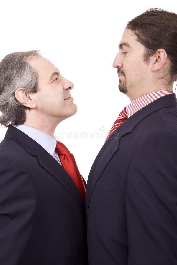 Confronti l'uomo d'affari immagini stock libere da diritti
