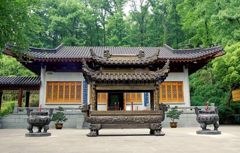 Confucian temple. Modern Confucian temple, Hangzhou, China stock photo
