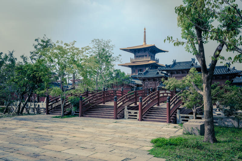 Confucian Temple. The GuangFuLin Confucian Temple at Shanghai royalty free stock image