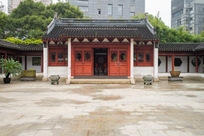 Confucian Temple, in Shanghai, China. Wen Miao, Confucian Temple, in Shanghai, China stock images