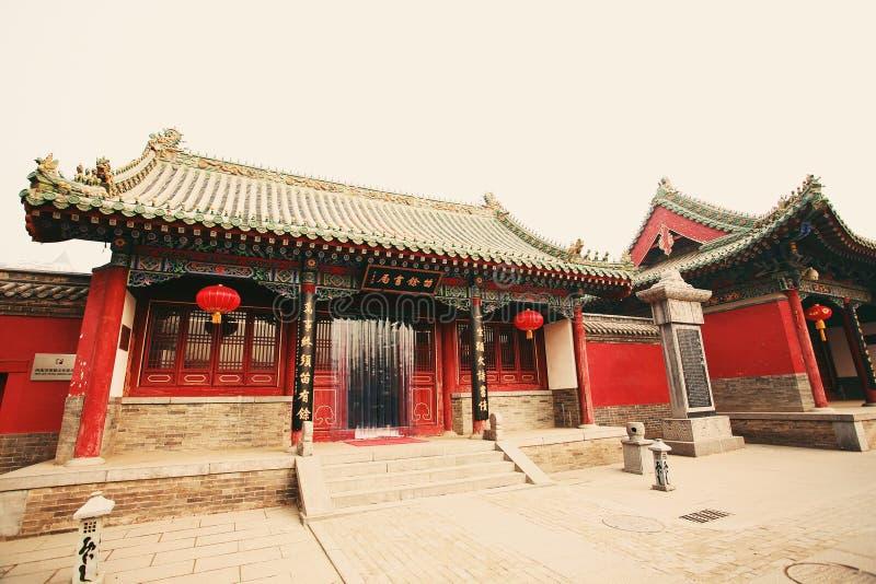 Confucious& x27; tempel in Zhengzhou stock afbeelding