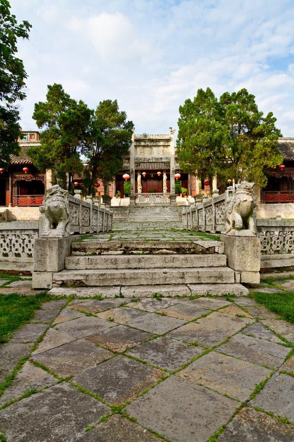 Confucious'temple imagenes de archivo