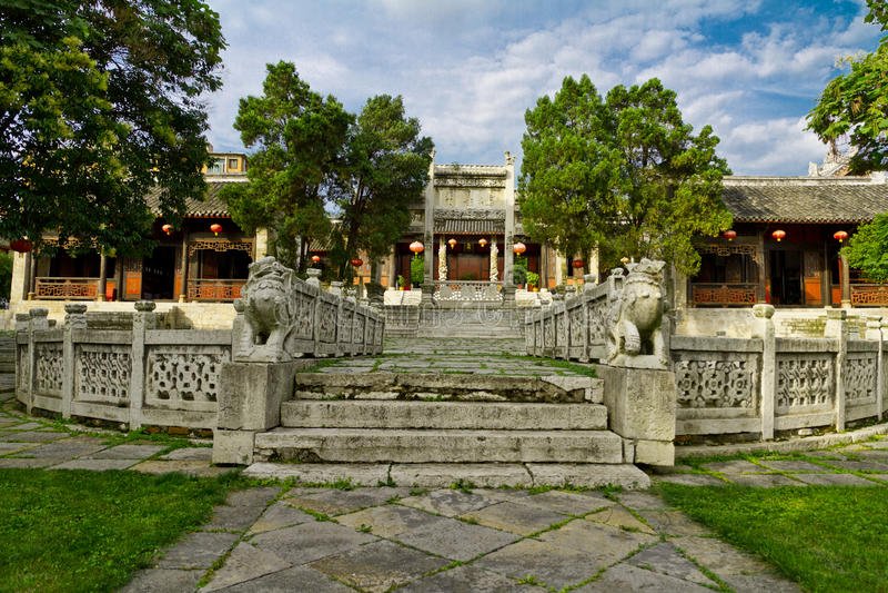 Confucious'temple foto de archivo libre de regalías