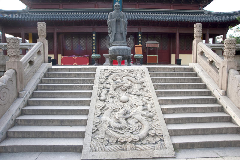 confucius świątynia obrazy stock
